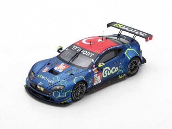 Spark Model 1 43 s7043 Aston Martin Vantage  90 TF Sport Le Mans 2018 NEW