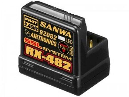 Sanwa RX-482 Receiver 4 channel 2.4GHz