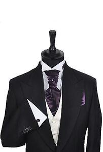 Mens-Boys-Wedding-Formal-Cravat-In-Shades-of-Purple
