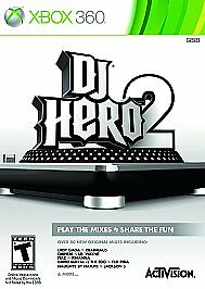 DJ-Hero-2-Microsoft-Xbox-360-2010-Game-Disc-Only-Tested-Fast-Free-Shipping