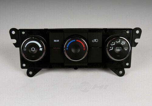 HVAC Control Panel ACDelco GM Original Equipment fits 09-12 Chevrolet Traverse