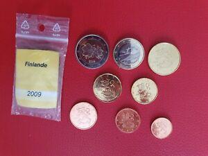 * Série complète UNC -  FINLANDE 2009 - 8 pièces
