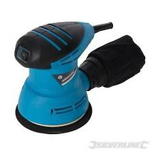SILVERLINE 240W 125MM ELECTRIC RANDOM ORBIT ORBITAL SANDER DETAIL PALM ORBITAL