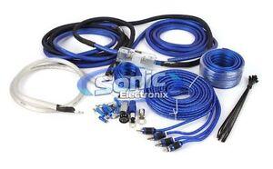 Stinger SK6641 4-Gauge AWG Complete Amplifier Installation Wiring Kit