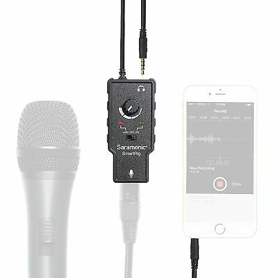 """Saramonic """"SmartRig"""" XLR Microphone Adapter for iPhone/iPad/iPod/Android Phone"""