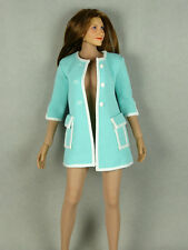 1/6 Phicen, Hot Stuff, Kumik, Play Toy - Female Aqua Over Coat w/ White Trims