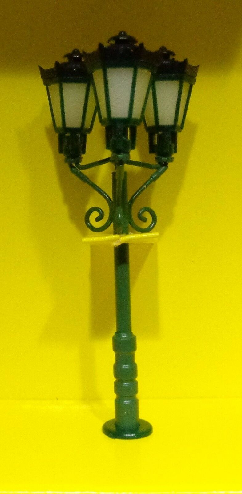 Viessmann h0 6079 trois lampadaire trois 6079 lampes vert 29dd3d
