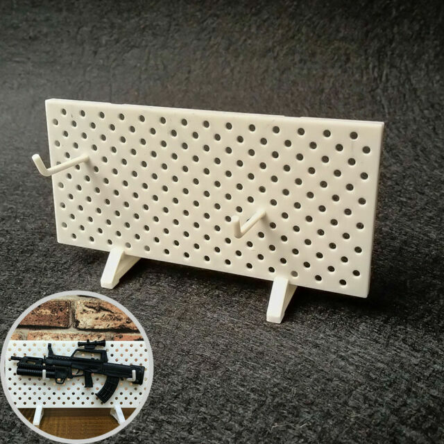 1//6 Scale Modular Weapons Display Wall Show Storage Stand for Gun Rack Model