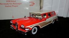 1:24 Danbury Mint 1958 Edsel Bermuda Station Wagon - RARITÄT in OVP
