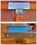 miniature 1 - Soporte para uniones de 3 postes de madera 9x9 cm conector galvanizado para viga