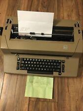 Vintage Ibm Selectric Ii 2 Correcting Typewriter Beige Tan Estate Sale