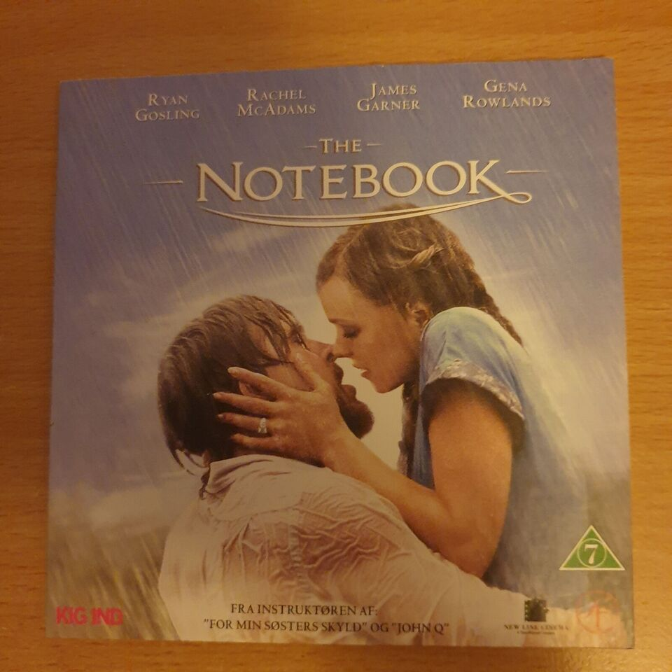 The Notebook, DVD, andet