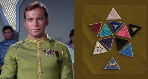 Star Trek TOS Captain Kirk Dress Uniform Awards Cosplay