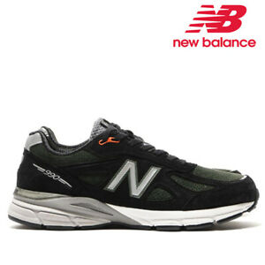 quality design 944e5 5482e Details about NEW BALANCE 990V4 MADE IN USA BLACK GREY M990MB4 SALE 100%  AUTHENTIC