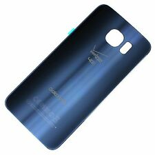 Samsung Galaxy S6 Verizon G920V Battery Back Door Glass Cover Replacement Black
