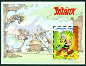 FRANCE-1999-MNH-Neuf-ASTERIX-CARTOON-M-Sheet-Bloc-22-Comic-Art-Stamp-MINT