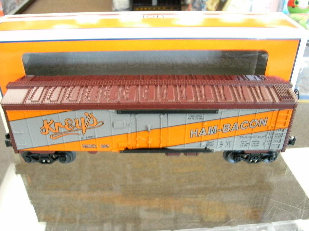 Lionel Ogauge 9800style Krey's HamBacon Reefer 619577