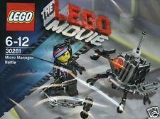 LEGO Lego Movie Micro Manager Battle + Wyldstyle Sonderset Polybeutel 30281