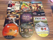 PS3: LOT DE 9 JEUX EN LOOSE        (lot 22)