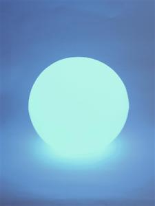 incl Grande Batterie DEL boule lumineuse 30 cm multicolore pour intérieur et extérieur FB ip44