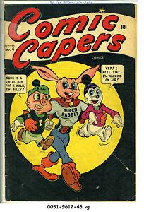 Comic Capers #4 © Summer 1945 Marvel