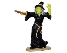 New Lemax - Witches Casts Spells / Miniature Garden - Fairy Garden - Halloween