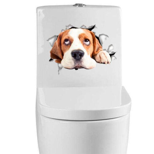 Hot Sale 3D Cute Cat Wall Sticker Bathroom Toilet Living Room Decor Stickers