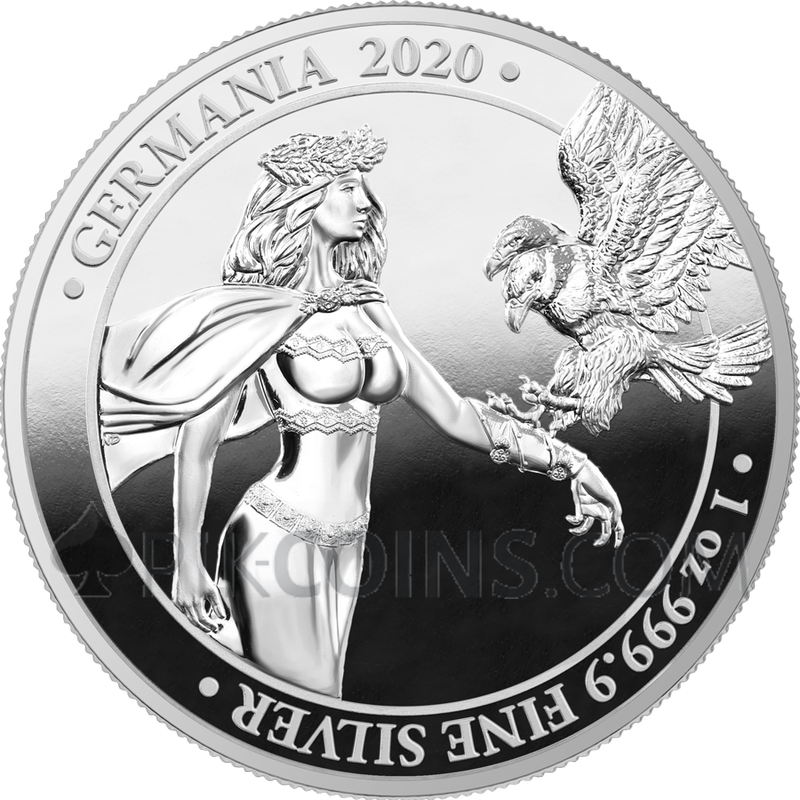 GERMANIA 2020 1oz SILVER PROOF EDITION