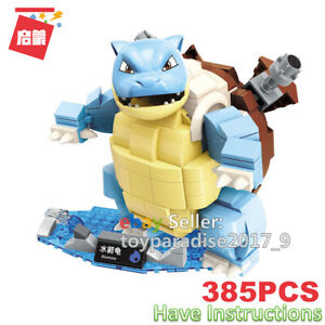 Enlighten Building Blocks Pokemon Series Blastoise Fits Mega Construx Toys