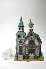 LEMAX VILLAGE Collection Cedar Valley Church Natale Nostalgia decorazione