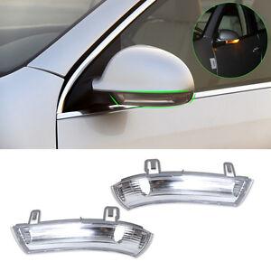 L-R-LED-Aussenspiegel-Spiegelleuchte-fuer-VW-GOLF-GTI-MK5-PASSAT-Blinkleuchte-NEU