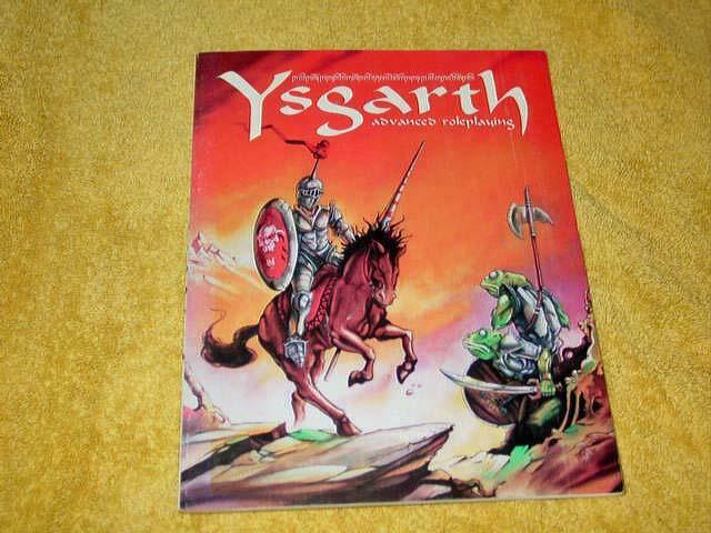 Ragnarok Enterprises - Ysgarth - Advanced Roleplaying - Basic Rules