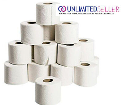 Cleaning & Janitorial Supplies Shop For Cheap 72 Bulk Pack Toilet Roll Paper Jumbo Pack 2 Ply Bathroom Soft White Toilet Rolls Relieving Rheumatism And Cold Other Cleaning Supplies