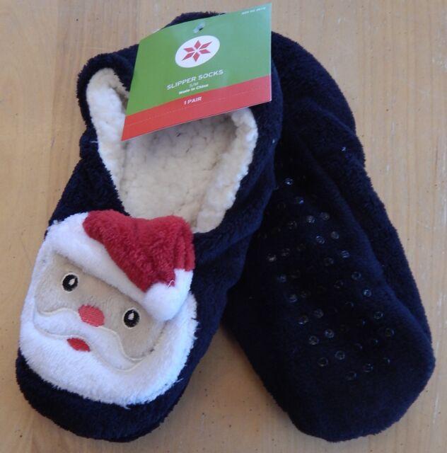 target womens christmas santa slipper socks size - Christmas Socks Target