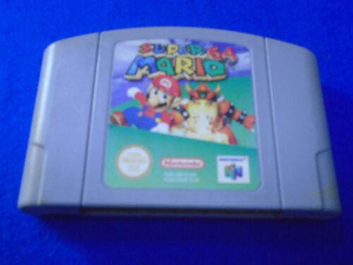 1 of 1 - N64 **SUPER MARIO 64 ** Game Nintendo PAL