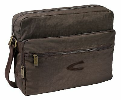 Camel Active Journey Shoulderbag Borsa Per Laptop Borsa A Brown Marrone- Paghi Uno Prendi Due