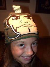 MICHIGAN STATE UNIVERSITY SPARTAN New Era SPARTY Child's CAP HAT MSU GO GREEN !