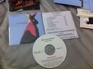 CD-promo-jean-louis-MURAT-Grand-lievre-numerote-RARE