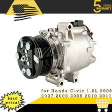 Ac Ac Compressor With Clutch For Honda Civic 18l 2006 2007 2008 2009 2010 2011