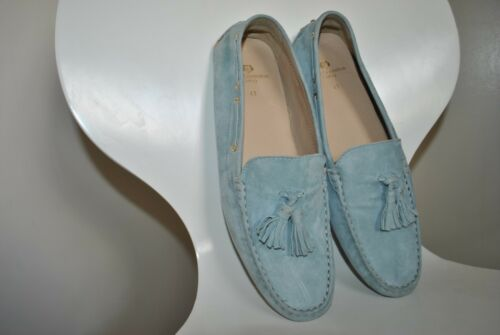 Cushioned Loafer Moccasin Paul Costelloe Size 41 Real Shoes Suede Boat Womens pI6wxqnEI