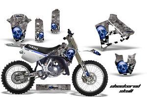 Dirt-Bike-Graphics-Kit-Decal-Sticker-Wrap-For-Yamaha-YZ125-1991-1992-CHECKER-U-S