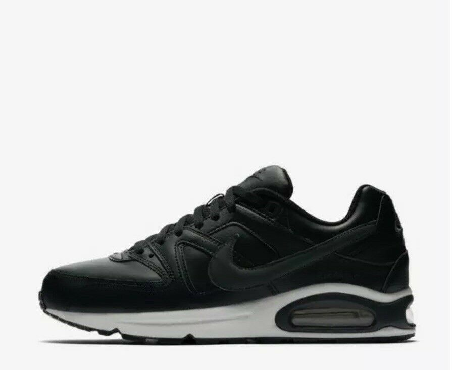 Mens Nike Air Max Command Black Lace Up Trainers Size