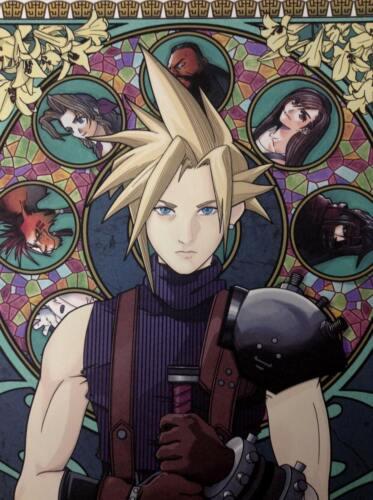 Cloud Strife Final Fantasy VII 12x18 Art Print by Robert Mitchell
