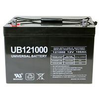 Upg 12v 100ah Sla Battery Replacement For Bb Battery Mpl110-12 on sale
