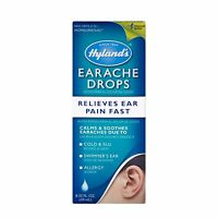 Earache Remedy Pain Relief Essential Oil Drops Flu Allergy Swimmer Ear Treatment