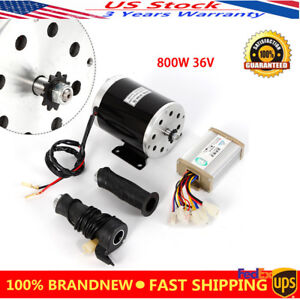 Details about 36V 800W electric motor Speed Controller Throttle MY1020 T8F  For Go-Kart DIY Kit