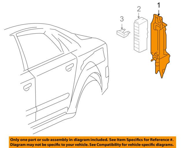 buy 2005 audi a8 sedan fuse relay block unit in trunk oem 4e0941824audi oem 04 10 a8 quattro electrical mount bracket 4e0941824