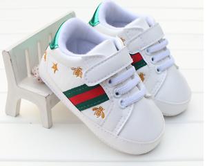 Newborn Baby Boy Girl Pram Shoes