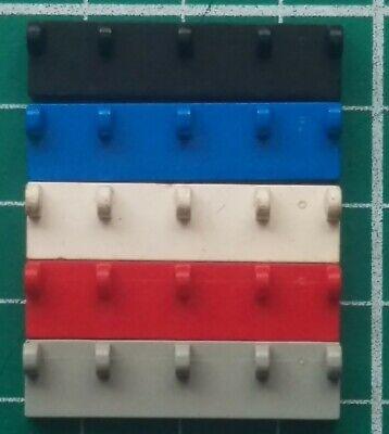 LEGO 4213 Hinge Vehicle Roof 4 x 4 4625 Hinge Tile 1 x 4 White Parts x1