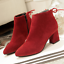 Women-039-s-Autumn-Winter-Short-Boot-High-Heel-Shoes-Warm-Martin-Boots-Plus-Size miniature 9
